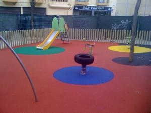 Parque infantil en sabadell
